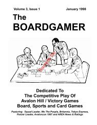 The Boardgamer Magazine - Volume 3, Issue 1 - WarGameVault