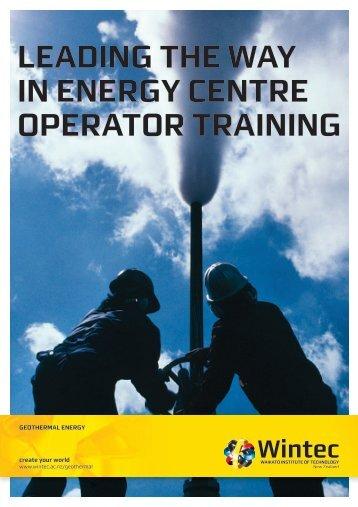 Geothermal Brochure - Wintec