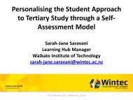 Branded (Yellow) Powerpoint Presentation - Wintec Research Archive