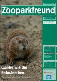 Zooparkfreund - Verein der Zooparkfreunde in Erfurt eV
