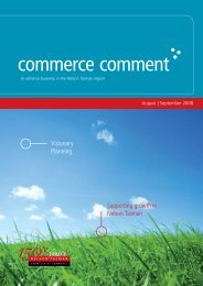 Commerce Comment August/September 2008 - Nelson Tasman ...
