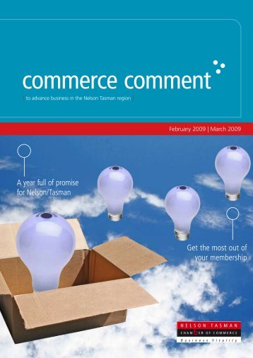 Commerce Comment February/March 2009 - Nelson Tasman ...