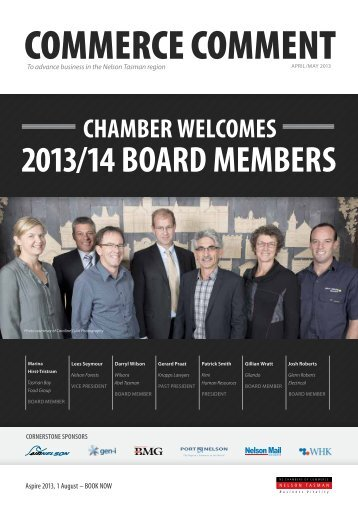 Commerce Comment April/May 2013 - Nelson Tasman Chamber of ...