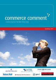Commerce Comment April/May 2011 - Nelson Tasman Chamber of ...