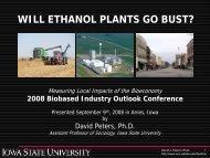 David Peters - Bioeconomy Conference 2009