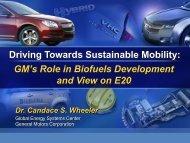 Candace Wheeler - Bioeconomy Conference 2009
