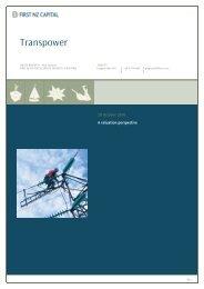 Transpower - Crown Ownership Monitoring Unit