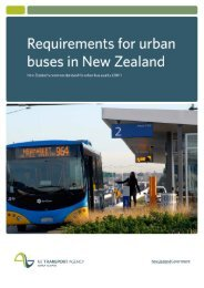Requirements for Urban Buses - Otago Regional Council