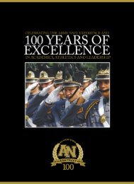 Army & Navy Academy-100 Years of Excellence - Army and Navy ...