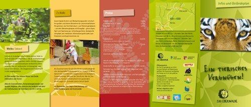 Zoo eberswalde lageplan