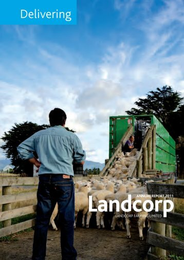Landcorp Farming Annual Report 2011 - Crown Ownership ...