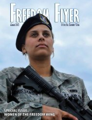 Special iSSue: Women of the freedom Wing - 514th Air Mobility Wing