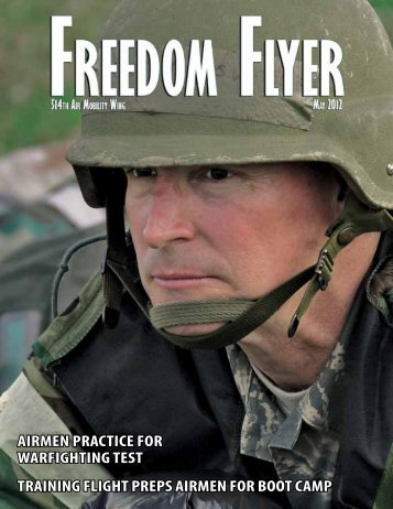 the May issue of Freedom Flyer. - 514th Air Mobility Wing