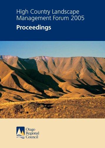 Download (PDF 1.92 MB) - Otago Regional Council