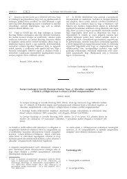 Európai Gazdasági és Szociális Bizottság vélemény Tárgy