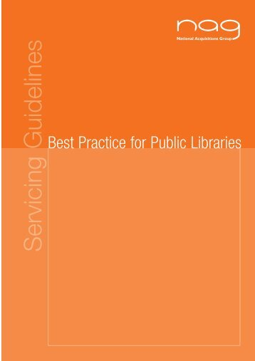 THE NAG GUIDELINES FOR SERVICING - Books Asia