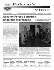 Security Forces Squadron under the microscope - 183rd Fighter ...