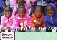 July Newsletter 2013 - The Potato Foundation