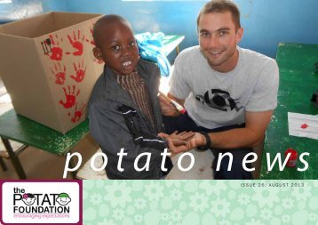 August Newsletter 2013 - The Potato Foundation