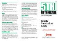 FIFTH GRADE - Charlotte-Mecklenburg Schools