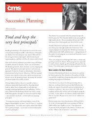 Succession Planning.pdf - Charlotte-Mecklenburg Schools