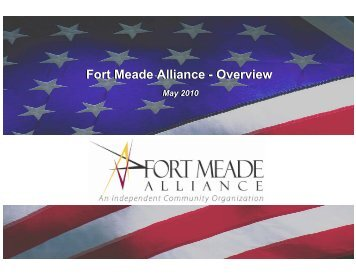 Fort Meade Alliance - Carroll County Department of Economic ...