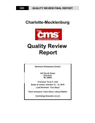 Davidson Elementary School - Charlotte-Mecklenburg Schools