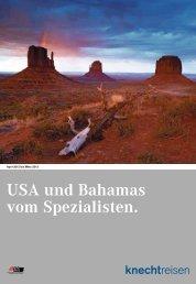 USA und Bahamas vom Spezialisten.