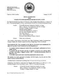Minutes-01-10-2012 - Charlotte-Mecklenburg Schools