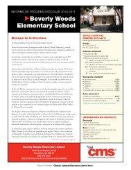 Beverly Woods Elementary School - Charlotte-Mecklenburg Schools