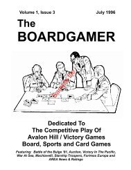 The Boardgamer Magazine - Volume 1, Issue 3 - WarGameVault