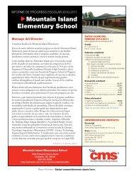 Mountain Island Elementary School - Charlotte-Mecklenburg Schools