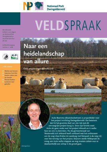 Veldspraak 2 2008 - Dwingelderveld