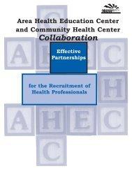Collaboration - National AHEC Organization
