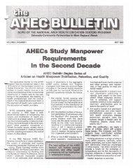 uirements - National AHEC Organization
