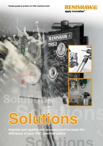 Renishaw Probes for CNC Machine Tools - 8/23/2013 9:35 PM
