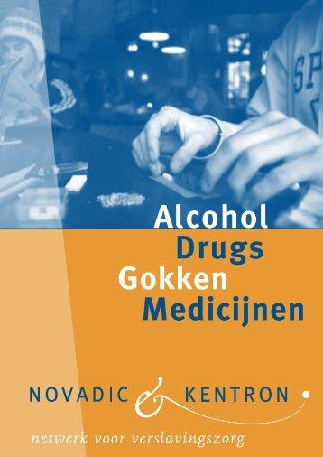 Alcohol, Drugs, Gokken, Medicijnen - Stopnu