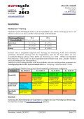 Newsletter Artistik 12.03.2013 Bereich Artistik - Eurocycle 2013 - Seite 2