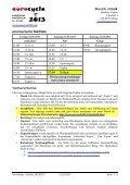 Newsletter Artistik 12.03.2013 Bereich Artistik - Eurocycle 2013 - Seite 3