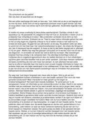 Frits van der Sman - Zorginnovatieboek