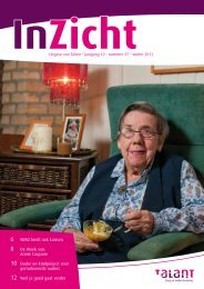 InZicht • winter 2011 - Talant