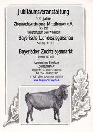 Jubiläumsveranstaltung - Landesverband Bayerischer ...