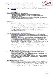 Algemene Voorwaarden Lidmaatschap V&VN - Verpleegkundigen ...