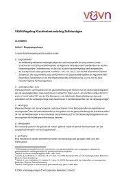 V&VN Regeling klachtenbehandeling zelfstandigen