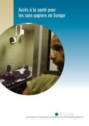 L'acces a la sante pour les sans-papiers en Europe - PICUM