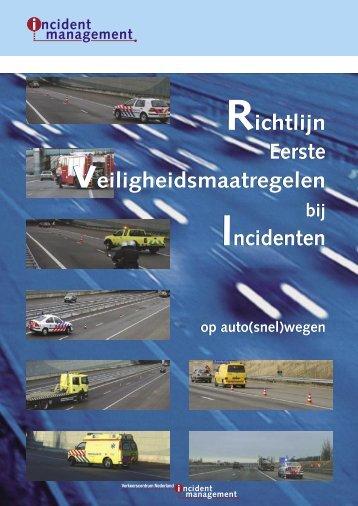 Richtlijn eerste veiligheidsmaatregelen bij incidenten op auto(snel)