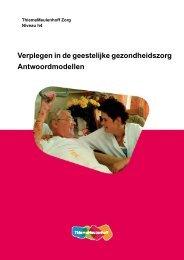 Verplegen in de geestelijke gezondheidszorg ... - Zorg Basisboeken