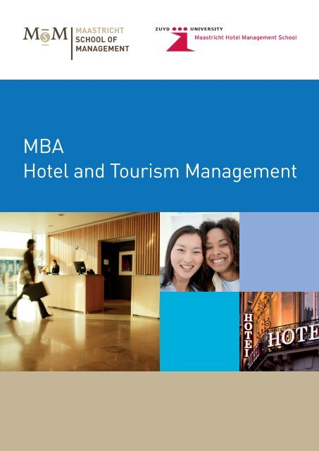 MBA Hotel and Tourism Management - Zuyd