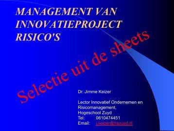 Risico Management - Zuyd