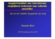 Jeugdcriminaliteit: een internationaal vergelijkend ... - Efcap-nl